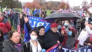Stop The Steal Olympia Washington Nov 7th 2020.Still254
